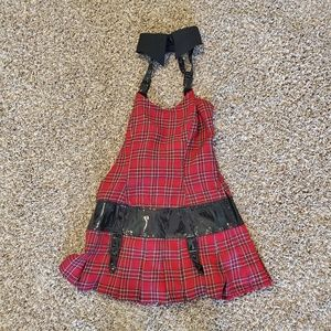 Lip service schoolgirl punk goth dress